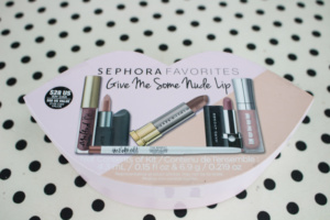 Sephora Favorites Give Me Some Nude Lip