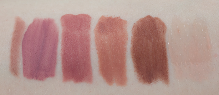 Sephora Favorites Give Me Some Nude Lip Swatches