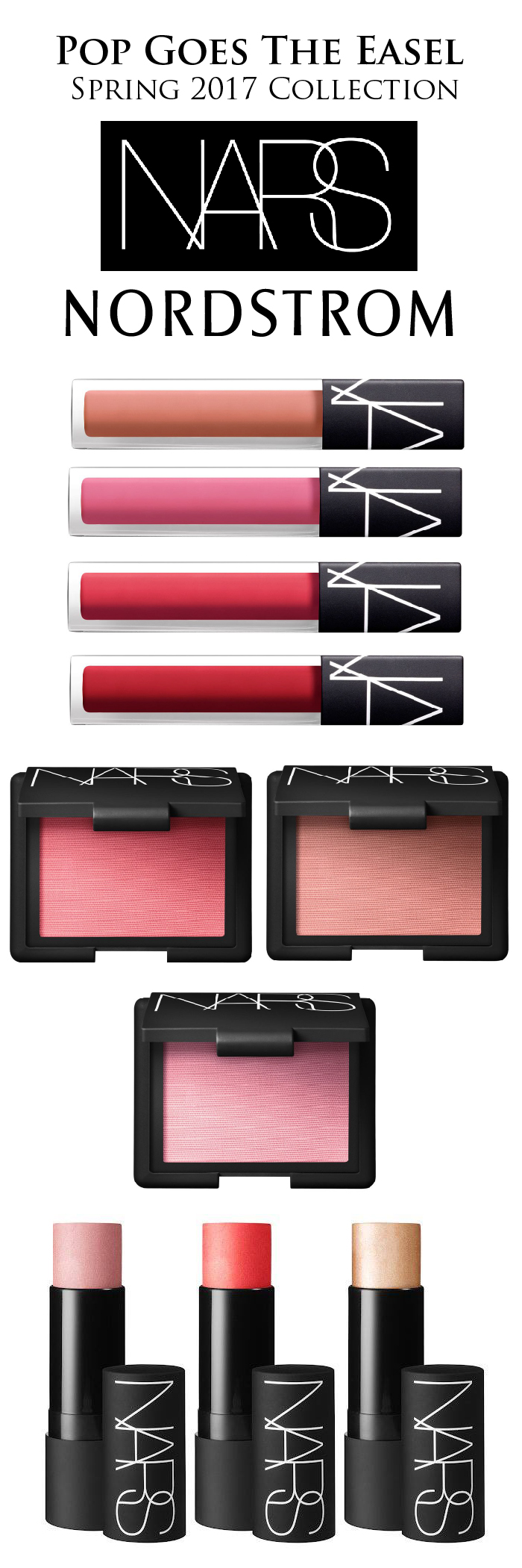 NARS Pop Goes The Easel Collection