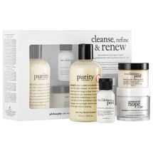 Philosophy Cleanse_Refine_Renew_Kit