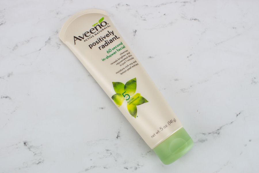 Aveeno Posively Radiant 60 Second In-Shower Facial
