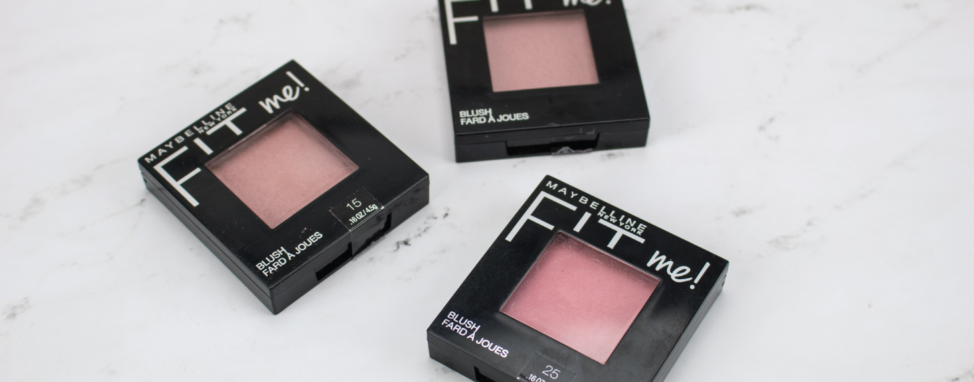 Maybelline Fit Me Blush Nude, Pink Rose, Mauve