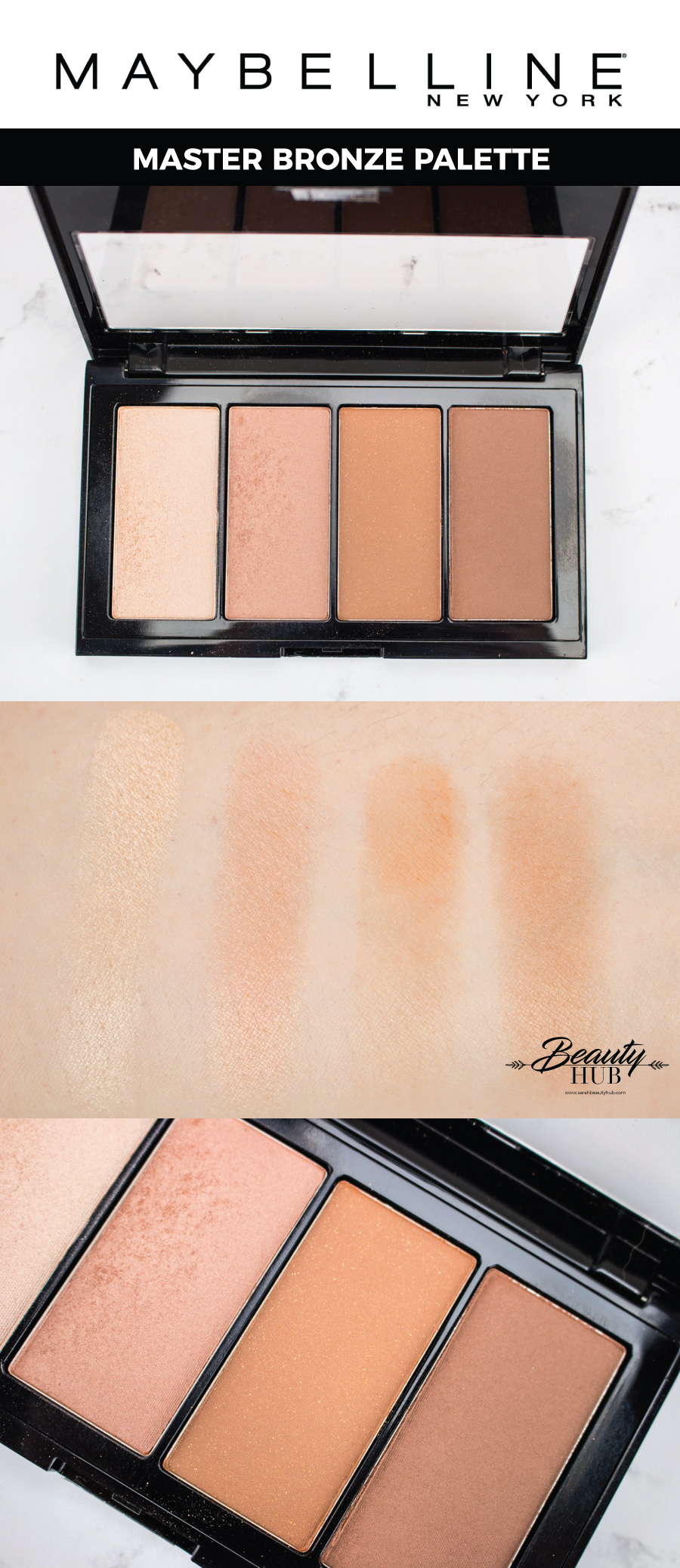 Maybelline Master Bronze Palette Review & Swatches