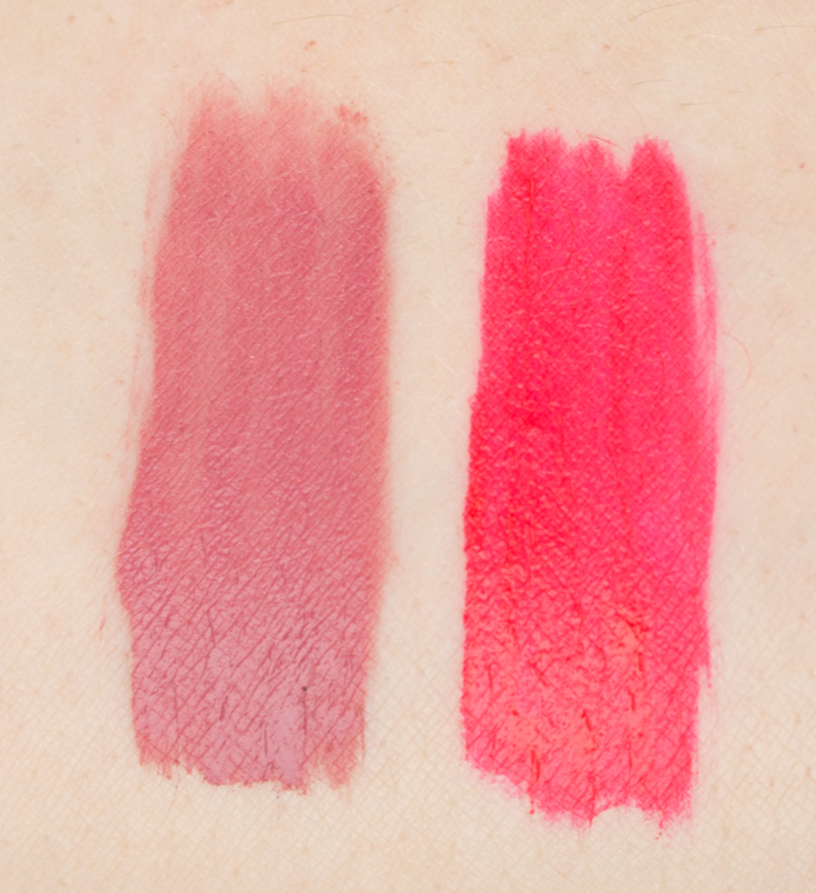 Maybelline Super Stay Matte Ink Swatches Lover and Heroine