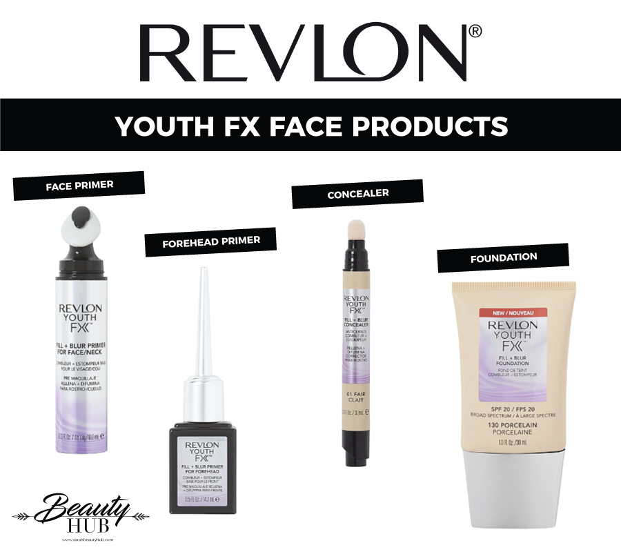 Revlon Youth FX Face Products