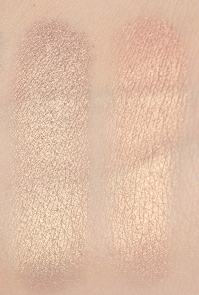 Tarte Make Believe In Yourself Eyeshadow Palette Swatches Crystal and Pixie