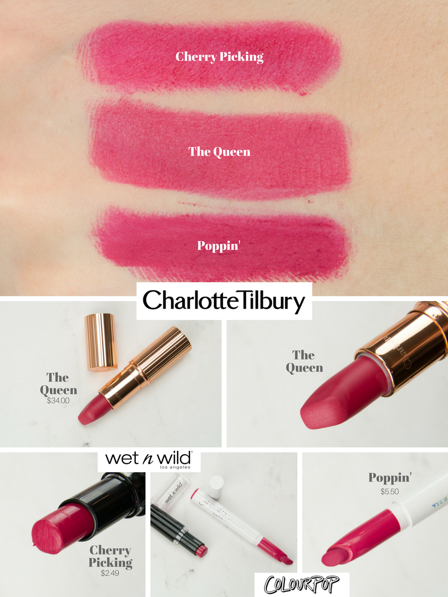 Affordable Charlotte Tilbury Lipstick Dupes Beauty Hub